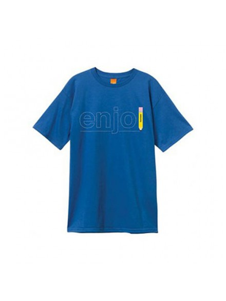 Playera Enjoi Pencil S/S Royal Blue M