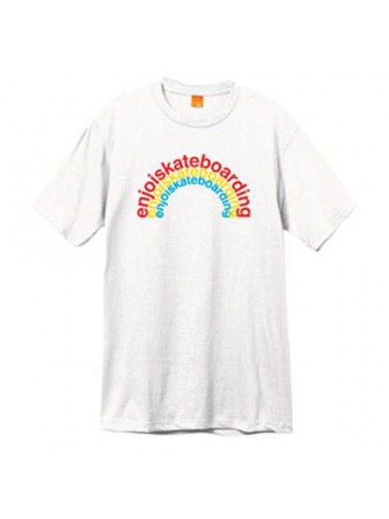 Playera Enjoi Primary Arc S/S White S