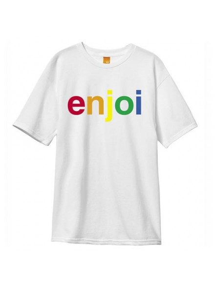 Playera Enjoi Spectrum S/S White S