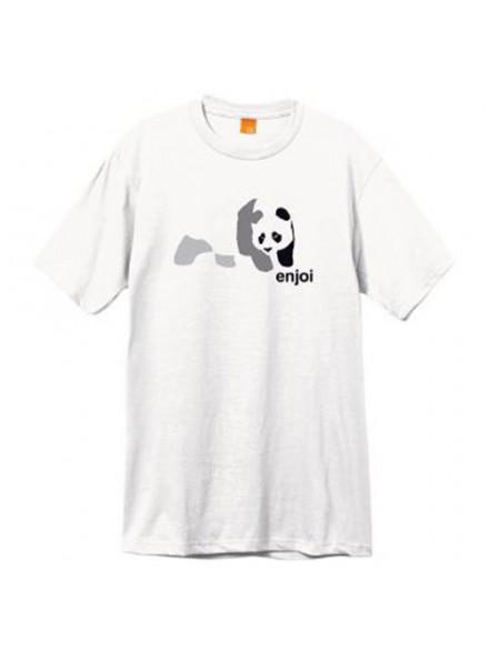 Playera Enjoi Tonal Panda S/S White S