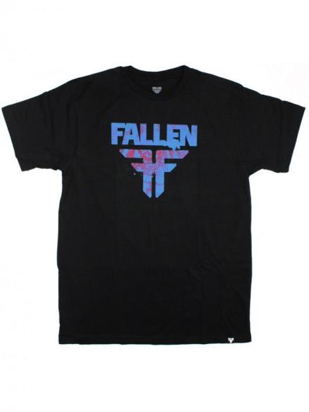Playera Fallen Acetone S/S Blk