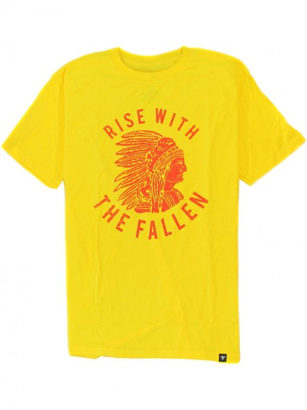Playera Fallen Tribe Yellow