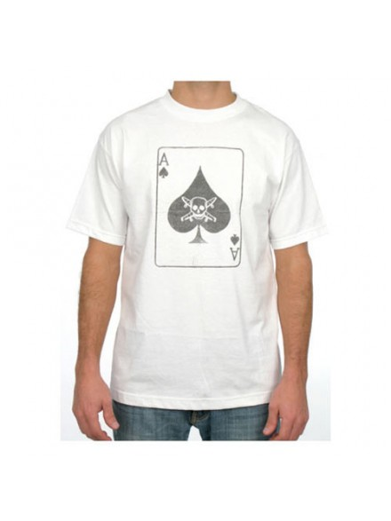 Playera Fourstar Ace Of Spades White S