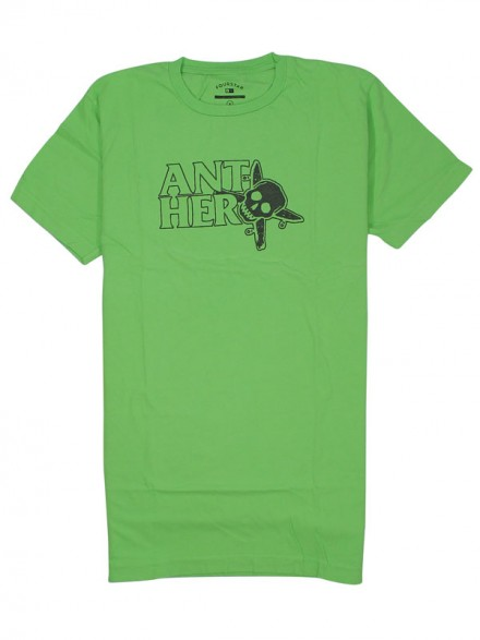Playera Fourstar Antihero Thumbs Overdye Neon Green