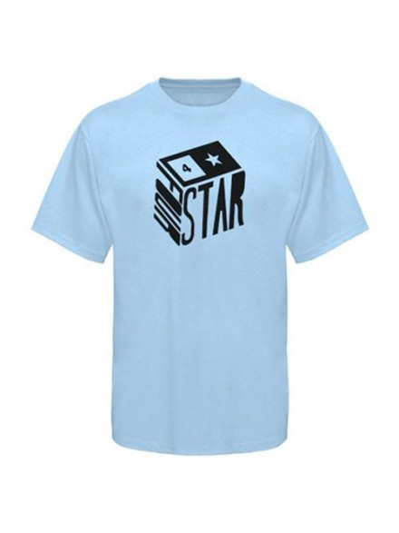 Playera Fourstar Cube Powder Blue S