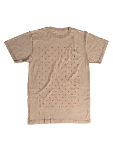 Playera Fourstar Foam Wash S/S Ecru S