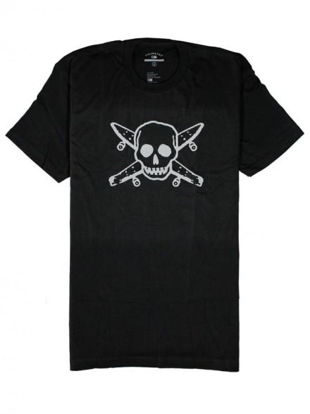 Playera Fourstar Gitd Pirate Black