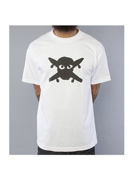 Playera Fourstar Pirate Eyes White M