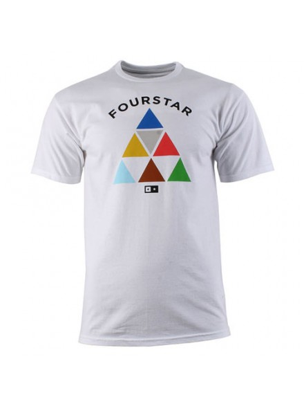 Playera Fourstar Signature White M