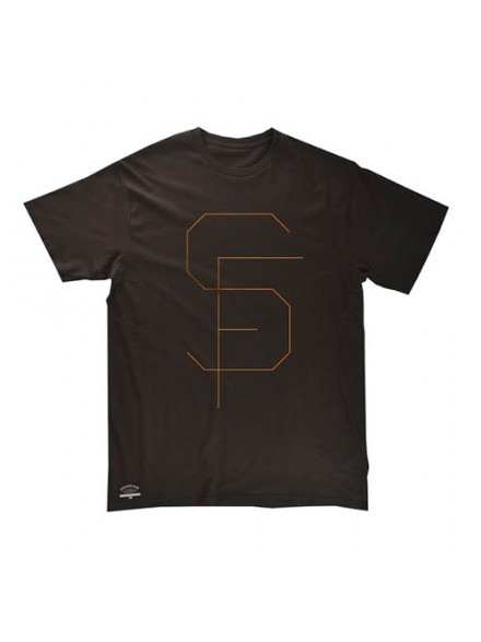 Playera Fourstar Thinline Black