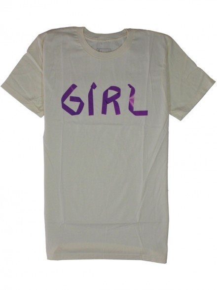 Playera Girl Tape Deck Premium Sand