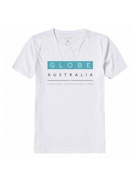Playera Globe Liquid Wht