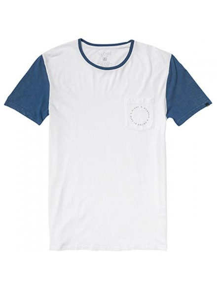 Playera Globe Zissou Captains Blu