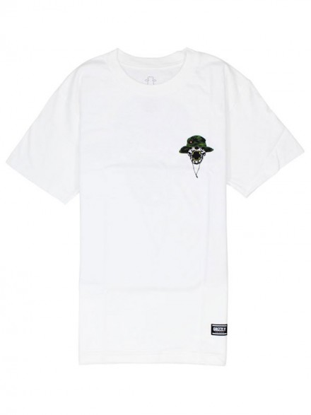 Playera Grizzly Boonie White