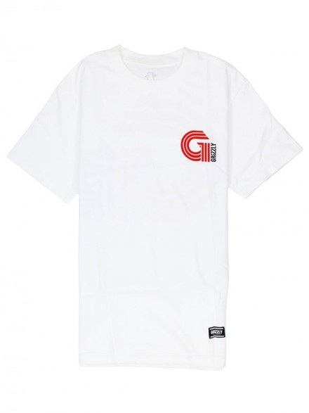 Playera Grizzly Certified G White