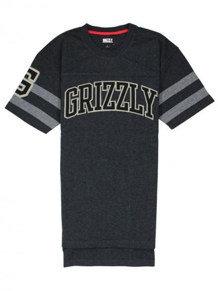 Playera Grizzly Fifty Yard Line Knit Black