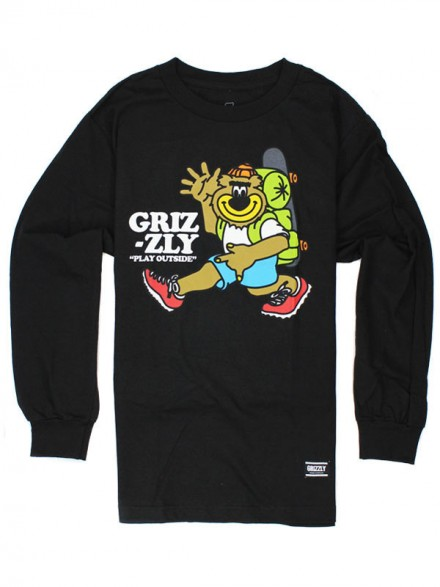 Playera Grizzly Mile High M/L Black