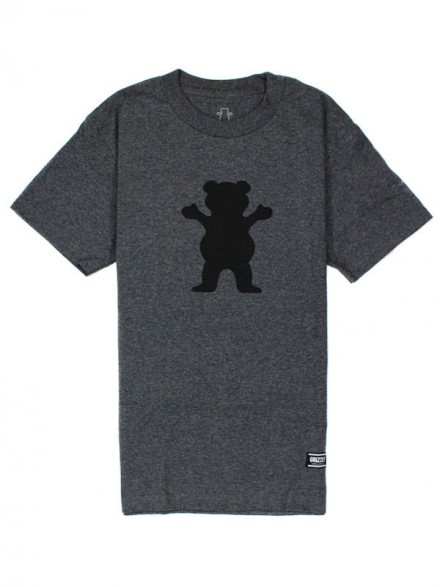 Playera Grizzly OG Bear Granite Heather