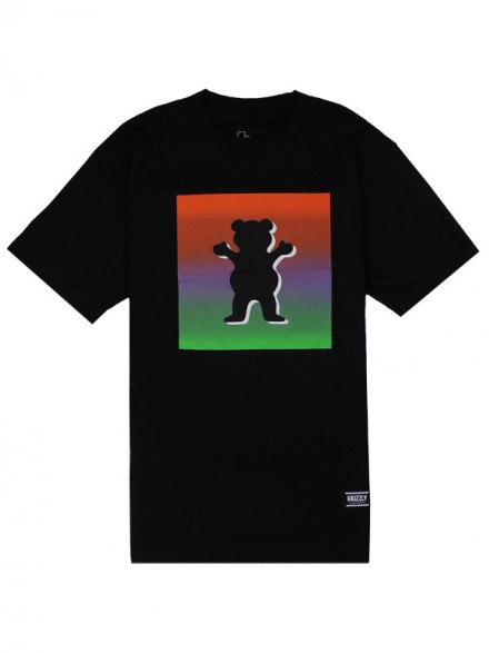 Playera Grizzly Poster Og Bear Black