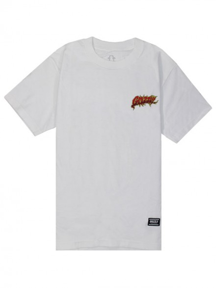 Playera Grizzly Rippin White