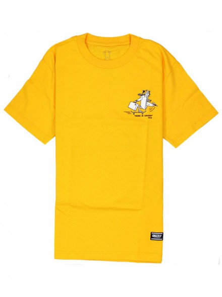 Playera Grizzly Rise N Grind Gold