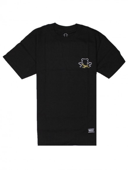 Playera Grizzly Stay Grizzly Black