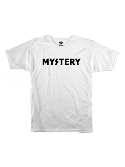 Playera Mystery Logo S/S White