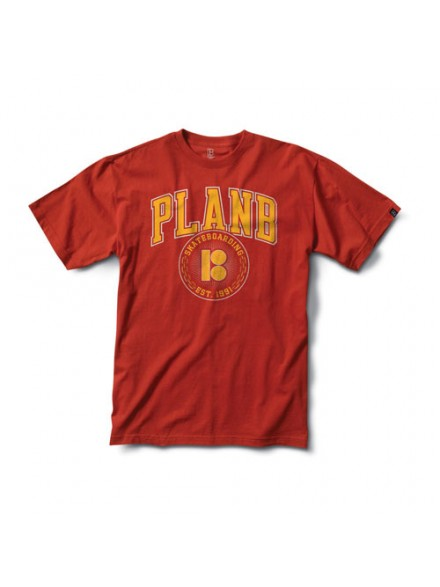 Playera Plan B Curtain S/S Red S