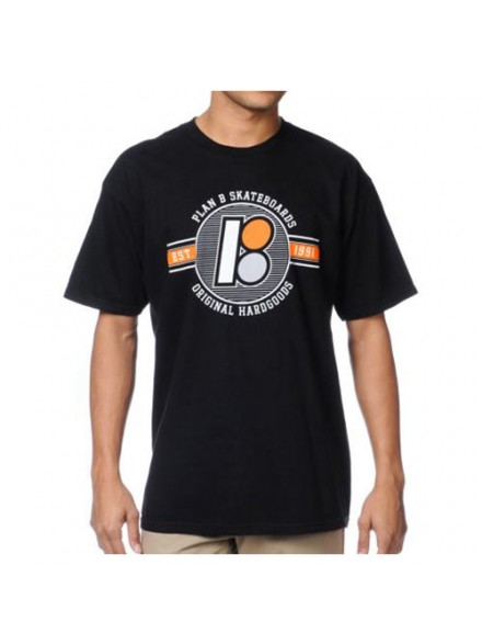 Playera Plan B Flyer S/S Blk S