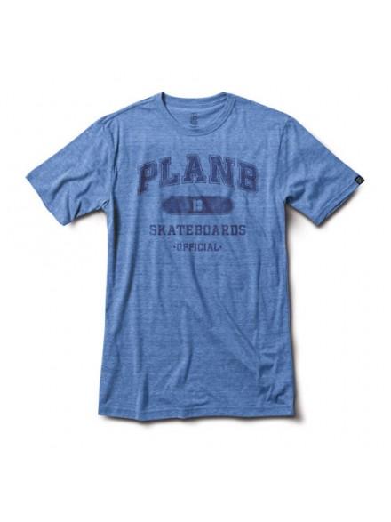 Playera Plan B Standrad S/S Blu S