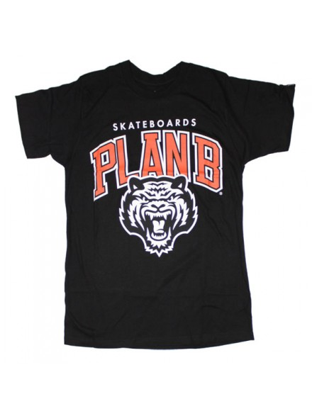 Playera Plan B Tiger S/S Blk