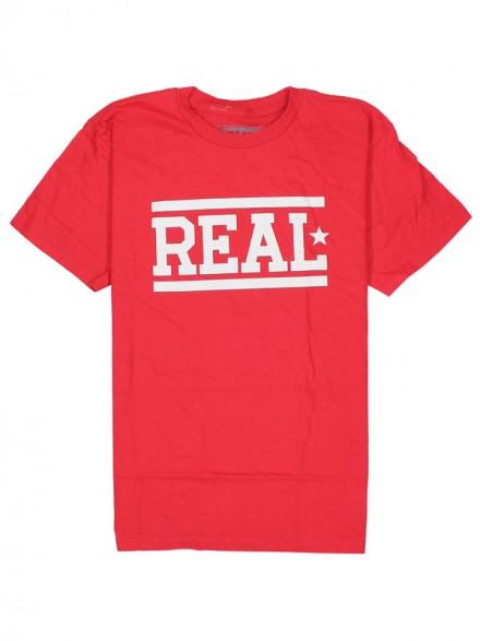 Playera Real Bars Red White