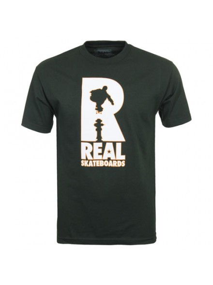 Playera Real Huf Hydrant S/S Hntr Grn S