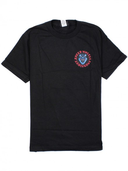 Playera Santa Cruz Screaming Hand Negro
