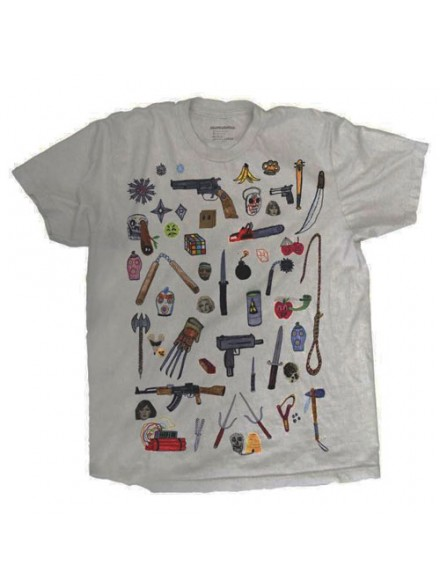 Playera Skate Mental How We Roll S/S Silver Small