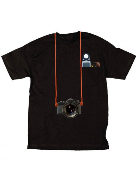 Playera Skate Mental Staba Photo Pocket Black