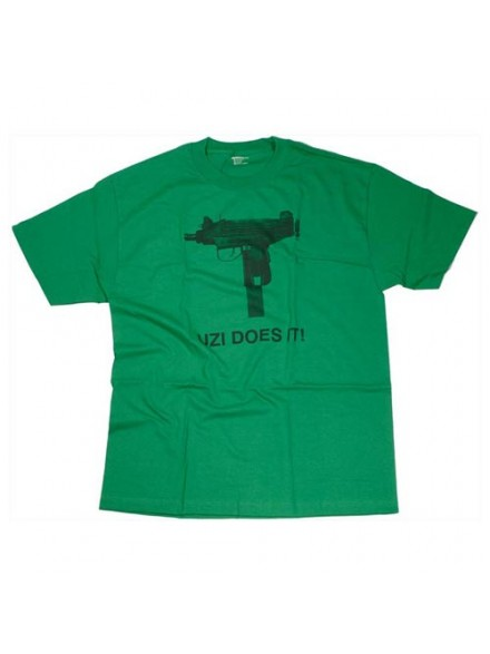Playera Skate Mental Uzi Does It S/S Kelly Green Small