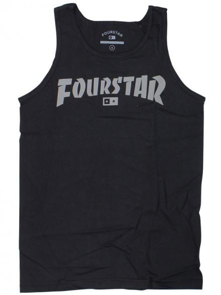 Playera Tank Fourstar Higspeed Black