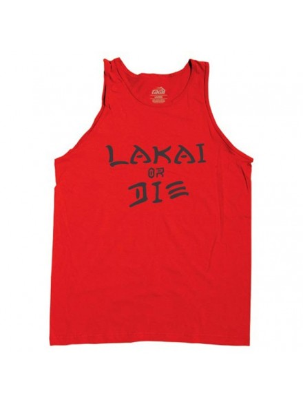 Playera Tank Lakai Tribute Red