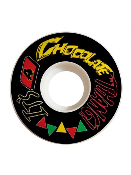 Ruedas Skate Chocolate Thang Blk 53 Mm