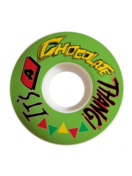 Ruedas Skate Chocolate Thang Grn 54 Mm