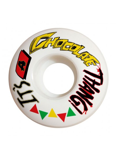Ruedas Skate Chocolate Thang Wht 52 Mm