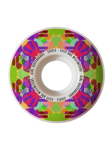 Ruedas Skate Girl Kaleidoskate 51 Mm