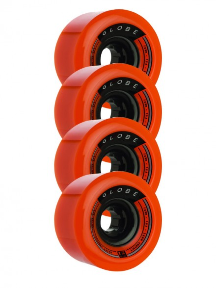 Ruedas Globe Drifter Orange 70mm