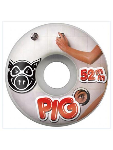 Ruedas Skate Pig Dan Lu Pig Head 52 Mm
