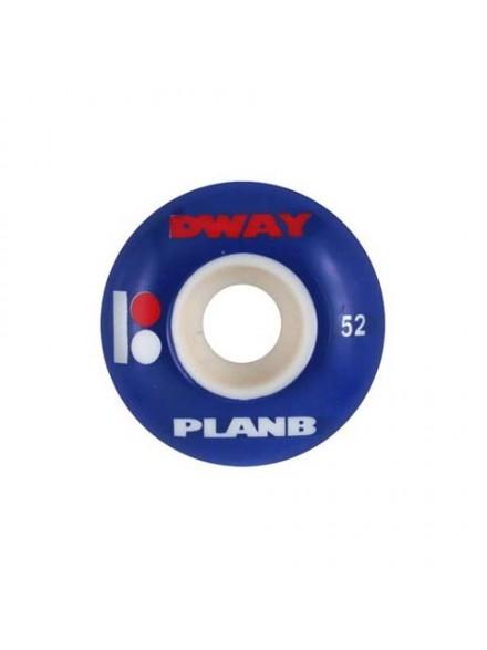 Ruedas Skate Plan B Dw Factory 52