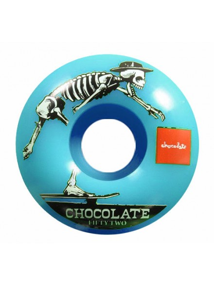 Ruedas Skate Chocolate El Choc Blu 54 mm