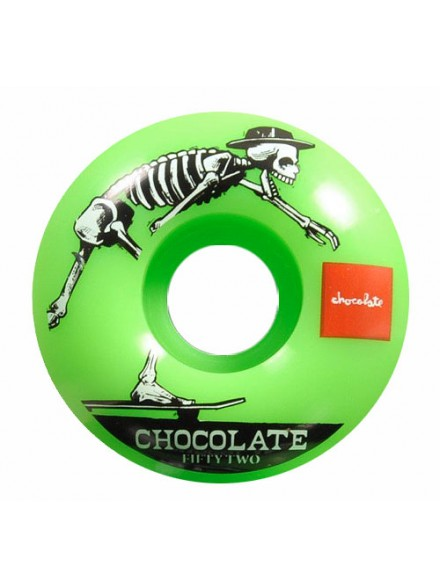 Ruedas Skate Chocolate El Choc Grn 52 mm