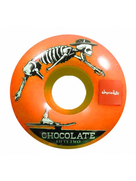 Ruedas Skate Chocolate El Choc Org 53 mm