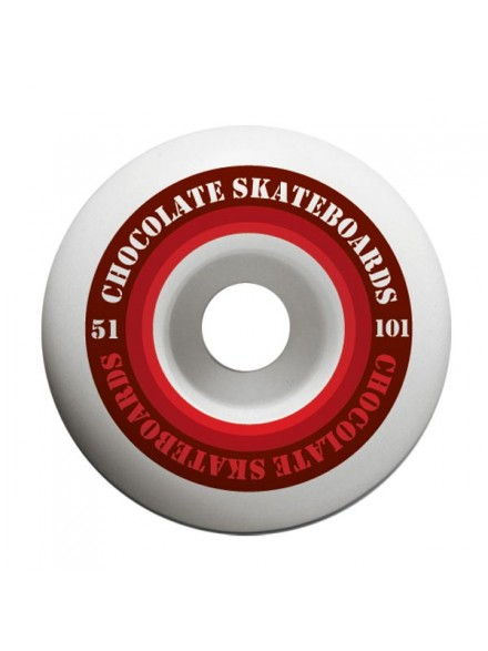 Ruedas Skate Chocolate Finish Line Hard 51 mm